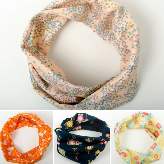 Little infinity scarves for kids aged 2-5