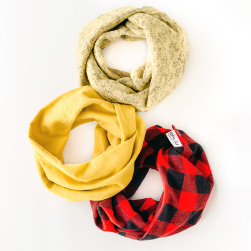 Baby and toddler scarf fall collection