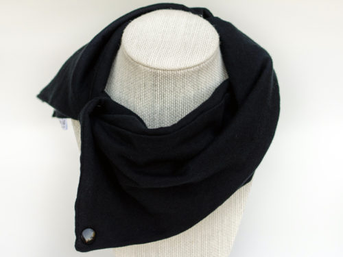 Black fashion scarf for baby