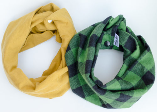 Fall scarves for babies and toddlers