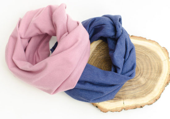 Baby infinity scarves