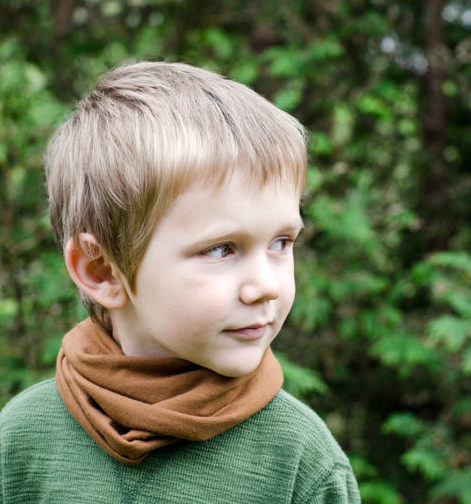 Toddler scarf for fall